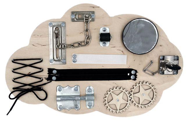 Tablica manipulacyjna Chmurka Montessori | Na prezent | Wysyłka GRATIS