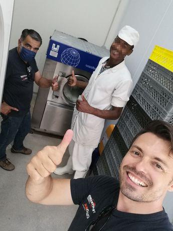 Máquina de lavar queijaria industria alimentar