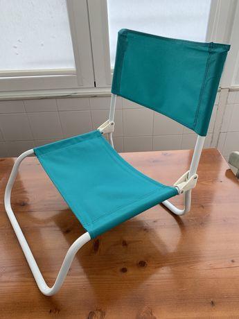 Cadeira de praia impecável