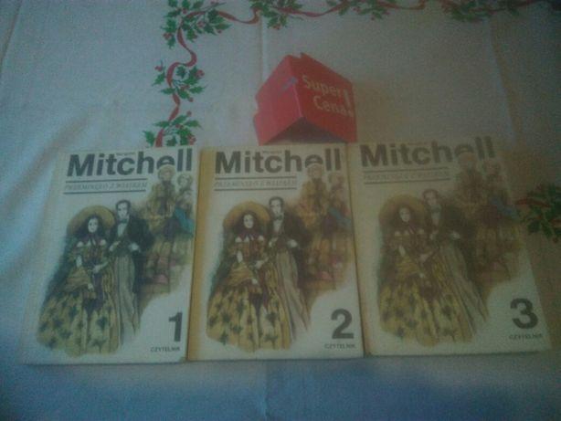 """książki """"przeminęło z wiatrem"""" Margaret Mitchell 3 tomy"""