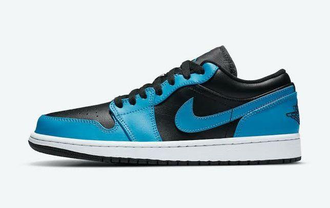 Nike Air Jordan 1 Low Lazer Blue, оригинал, кроссовки, джордан, travis