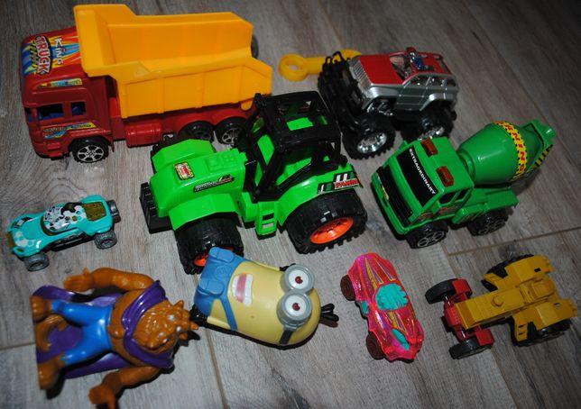 Набор новых игрушек для мальчика 2 - 4 лет. Машинки, трактора, гонки +