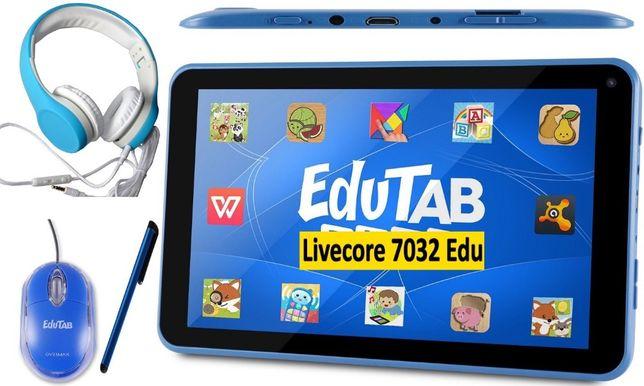 Dla Dzieci EDUTAB Tablet Edukacyjny PLAY Multiset na Prezent Święta