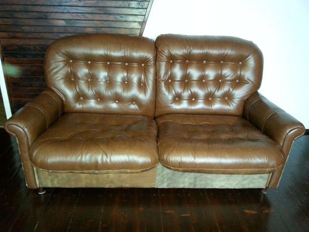 Skórzana kanapa (sofa)