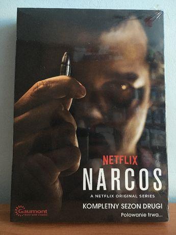 Narcos - Sezon 2 - Serial Netflix - Nowy - Folia