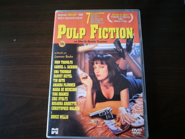 Pulp Fiction (FILME DVD Português)