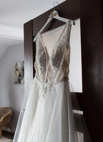 Suknia ślubna Gabbiano 3001 Azura- salon Madonna Katowice 10.2020
