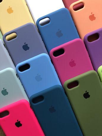 чохол чехол silicone case для на айфон iphone 6 6s 7 7+ 8 8+ X Xs Xr