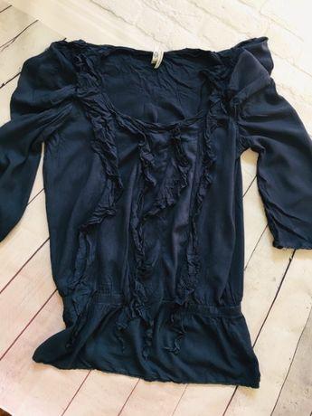 NEXT granatowa tunika bluzka S