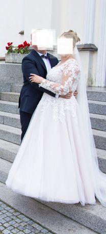 Sprzedam suknię ślubną Morii Lee 42-46