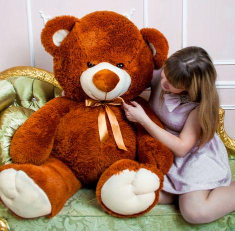 Плюшевый мишка Томми 50-190 см, большой медведь, мягкая игрушка