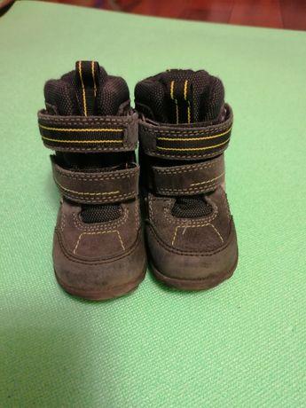 Зимние ботинки ecco. Тёплые сапоги