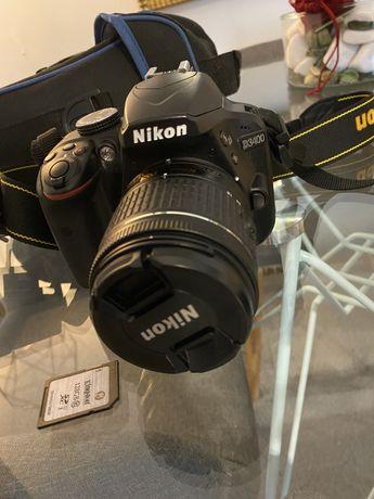 Máquina Fotográfica NIKON D3400 + AF-P DX 18-55
