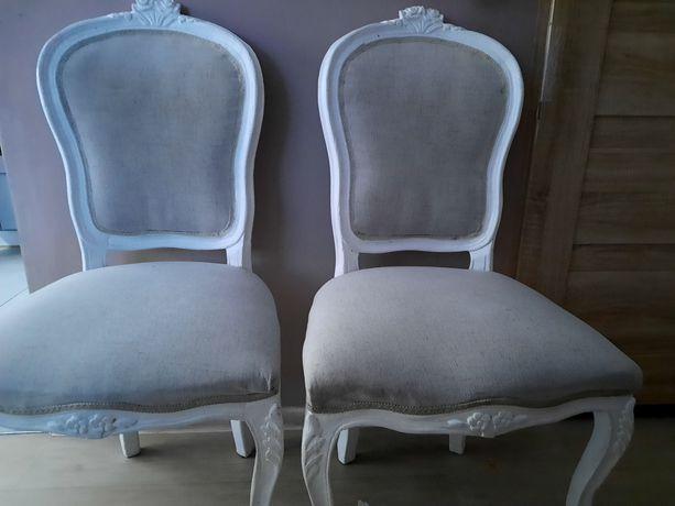 Sprzedam 4 krzesla ludwik