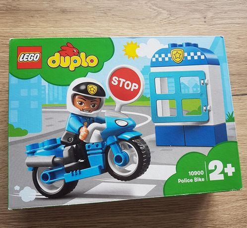 Klocki lego duplo motor policjant nowe