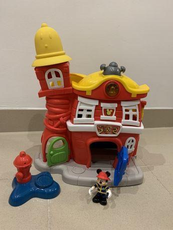 Quartel dos bombeiros do Mickey