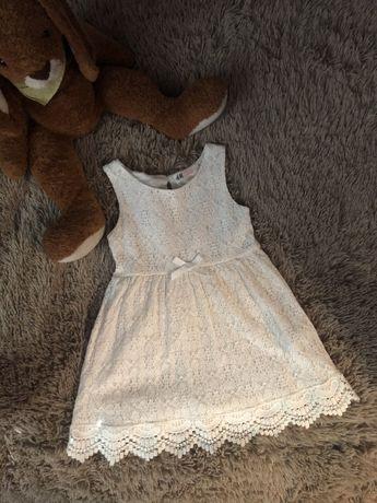 Мереживна сукня H&M на 2-4 роки. 98/104р.