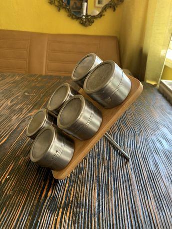 Спецовник. Для специй подставка. Магнитная. Для кофейни специи.