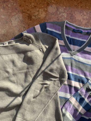 Zestaw dwóch sweterków s.Oliver i Christian Berg