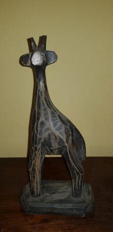 Żyrafa, figurka, rzeźba, element dekoracyjny, wyposażenia