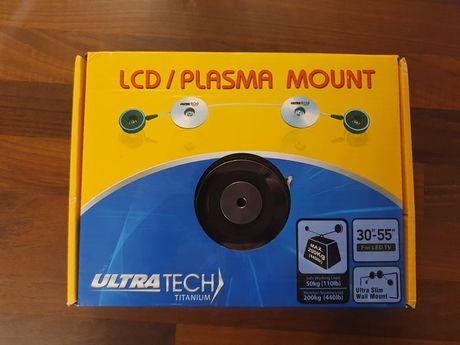 Uchwyt LCD rolkowy wieszak telewizor przylegający