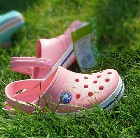 Детские Кроксы Крокси Crocs Crocband Kids Clog СандалиКроксы 24-34р