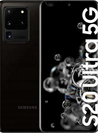 Nowy zapakowany Samsung Galaxy S20 Ultra 5G  Cosmic Black
