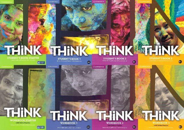 Think 1, 2, 3, 4, комплект Student's book+Workbook