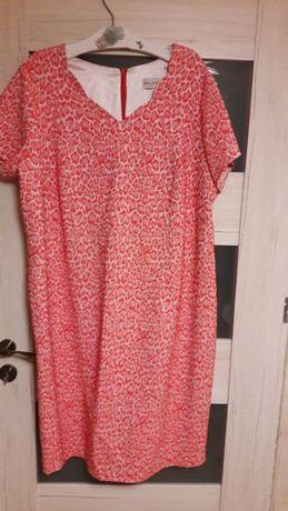 Ekstra sukienka 56 duży rozmiar XXL tanio przesylka 1 zl