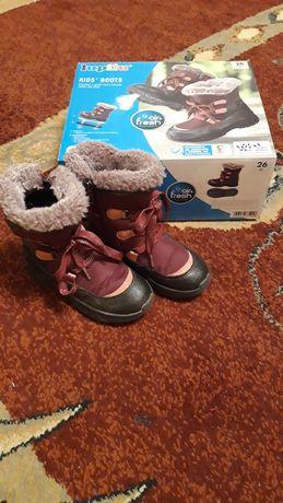 Buty zimowe dziewczęce r 26