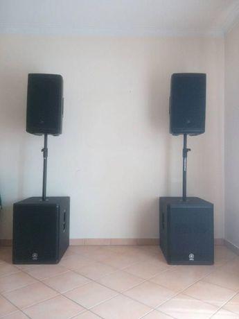 Aluguer de som/PA ( equipamento/sistema de som ) para eventos