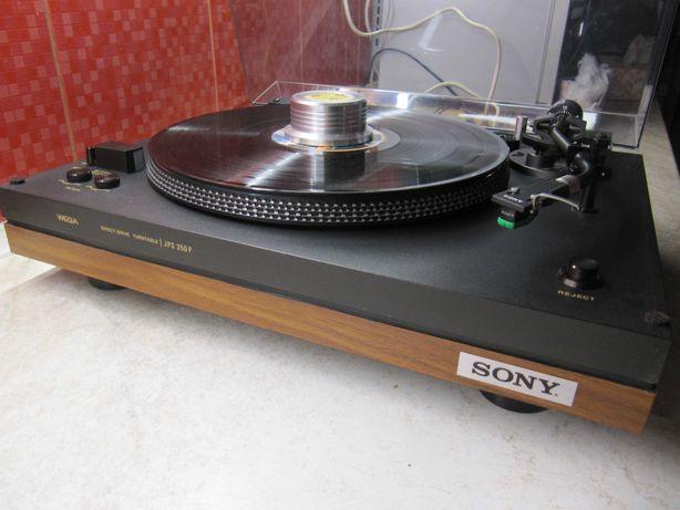 Виниловый Проигрыватель SONY- Wega JPS-350P Hi-Fi Direct Drive/Automat
