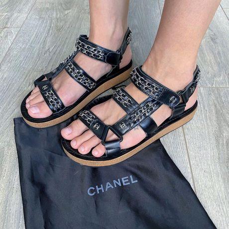 Сандали босоножки Chanel