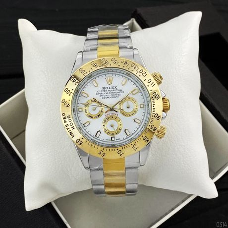 Zegarek Rolex Daytona Automatic Silver-Gold-White