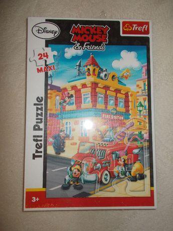 puzzle Miki Mouse, MAXI 24szt NOWE