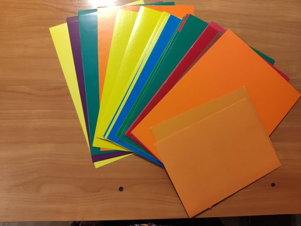 Канцтовары, картон, бумага, папка