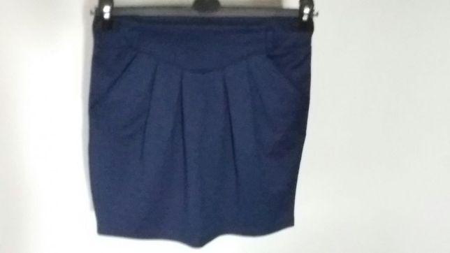 Granatowa spódnica rozmiar s