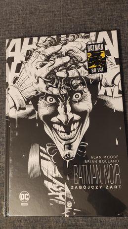 Batman noir zabójczy żart DC polska komiks nowy folia