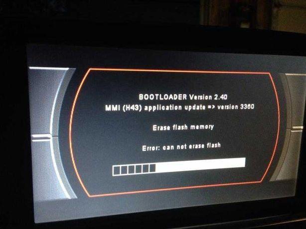 Audi MMI 2G 3G Naprawa Bootloader Polskie Menu A4 A5 A6 A7 A8 Q7 Q5
