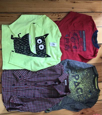Zestaw bluzek koszula 104