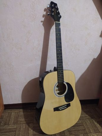 Электроакустическая гитара Stagg SW201 N! Новая! 3050 до 27.11.20!