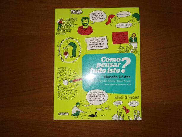 Manual - Como Pensar Tudo Isto? 11°ano - Sebenta Editores