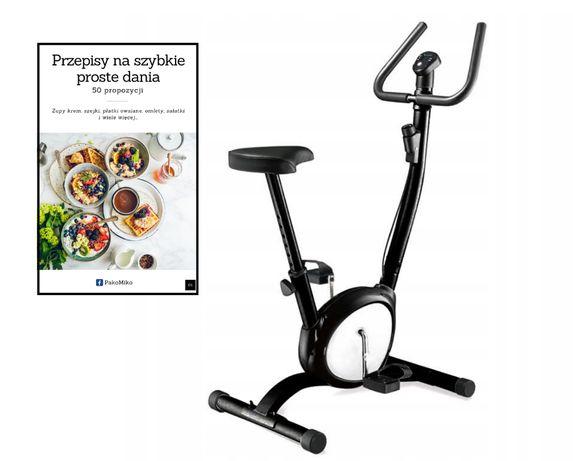 Rower treningowy stacjonarny rowerek do ćwiczeń + GRATIS