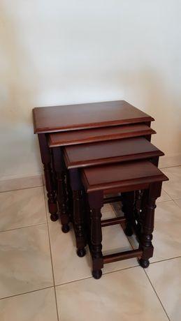 Conjunto de 4 mesas