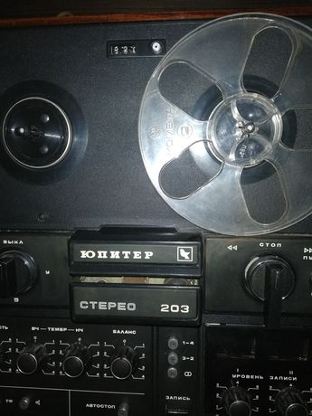 Бабинный магнитофон Юпитер -203