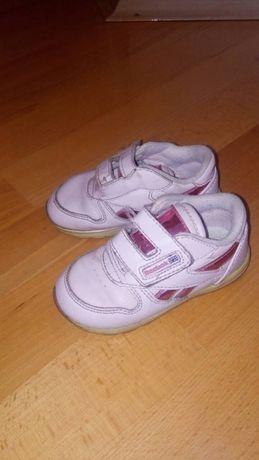 Детские кожаные кроссовки Reebok