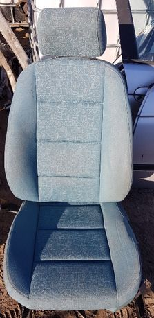 Fotele wnętrze zielone BMW E36 kombi