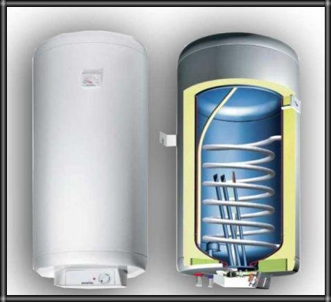 Чистка и монтаж бойлера (водонагревательных баков)