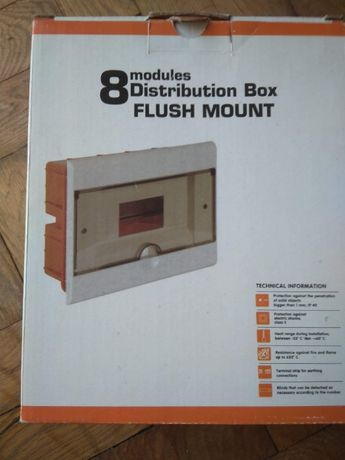 коробка для електрозапобіжників (8 автоматів)