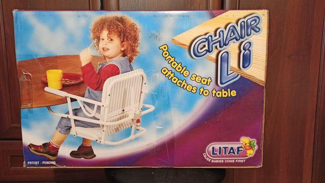Подвесной стульчик для кормления Litaf